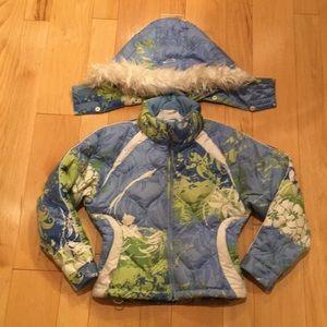 Girl's Obermeyer Ski Down Jacket - Size 10